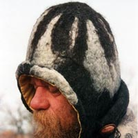 Image of felted hat